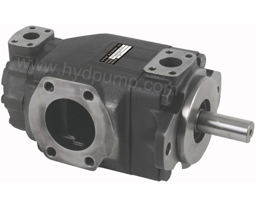 Desion double vane pump